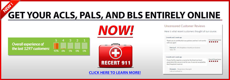 CPR, ACLS, PALS, and BLS certification