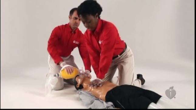 Adult CPR with AED